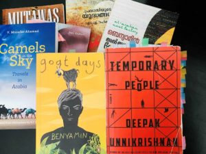 Coverpages of some of the books discussed in the article