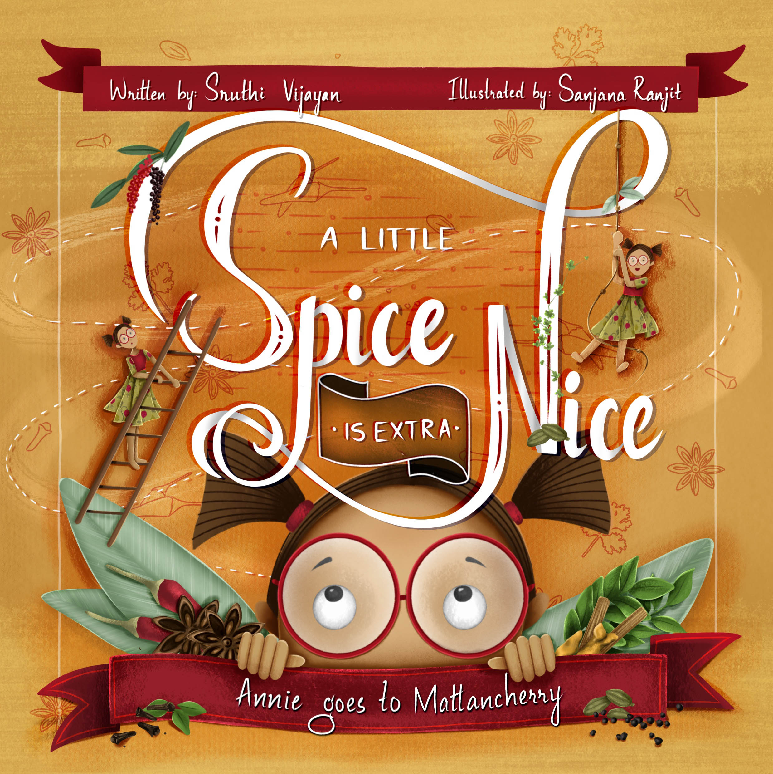 A little Spice is Extra Nice, cover image